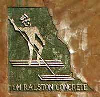 Tom Ralston Concrete Logo